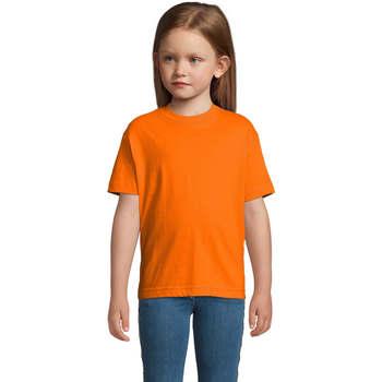 Odjeća Djeca Majice kratkih rukava Sols Camista infantil color Naranja Naranja