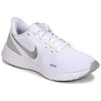 Obuća Žene  Multisport Nike WMNS NIKE REVOLUTION 5 Bijela / Srebrna