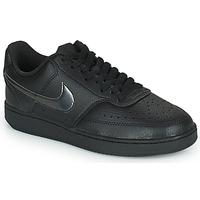 Obuća Žene  Niske tenisice Nike WMNS NIKE COURT VISION LOW Crna