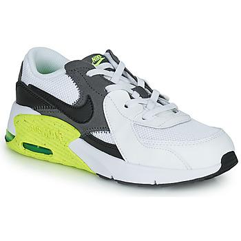 Obuća Djeca Niske tenisice Nike NIKE AIR MAX EXCEE (PS) Bijela / Crna