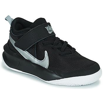 Obuća Djeca Visoke tenisice Nike TEAM HUSTLE D 10 (PS) Crna / Srebrna