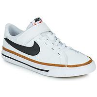 Obuća Djeca Niske tenisice Nike NIKE COURT LEGACY (PSV) Bijela / Crna