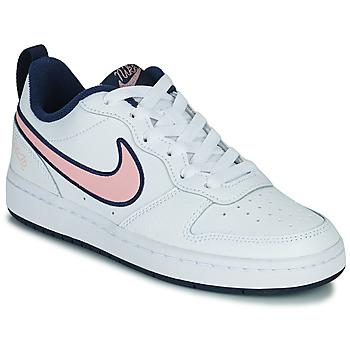Obuća Djeca Niske tenisice Nike COURT BOROUGH LOW 2 SE1 (GS) Bijela / Ružičasta