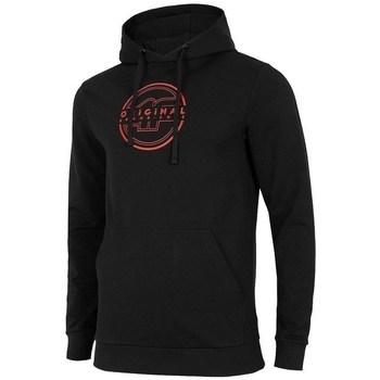 Odjeća Muškarci  Sportske majice 4F BLM015 Crna