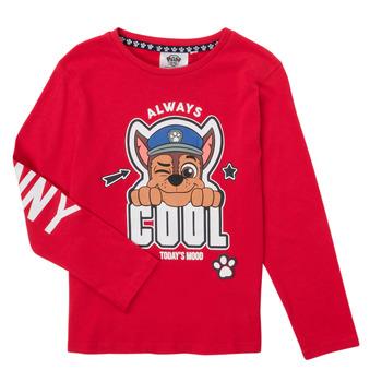 Odjeća Dječak  Majice dugih rukava TEAM HEROES  TEE PAW PATROL Red