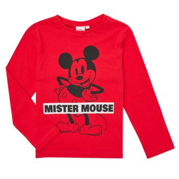 Odjeća Dječak  Majice dugih rukava TEAM HEROES  TEE MICKEY Red