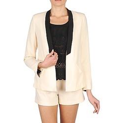 Odjeća Žene  Jakne i sakoi Stella Forest YVE005 Krémově bílá