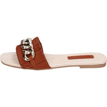 Obuća Žene  Natikače Miss Unique Sandale BH145 Smeđa