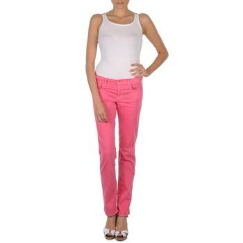 Odjeća Žene  Hlače s pet džepova Gant DANA SPRAY COLORED DENIM PANTS Pink