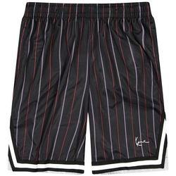 Odjeća Muškarci  Bermude i kratke hlače Karl Kani Short  Small Signature Pinstripe Mesh noir/bleu/rouge