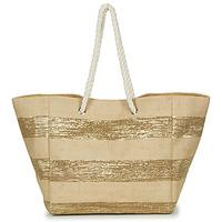 Torbe Žene  Shopper torbe Betty London  Bež / Zlatna