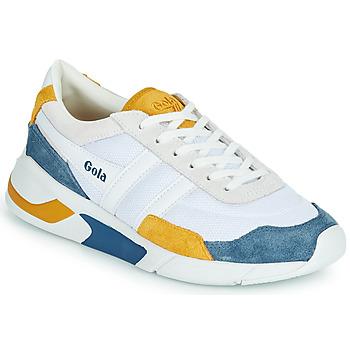 Obuća Žene  Niske tenisice Gola GOLA ECLIPSE Bijela / Blue / Žuta
