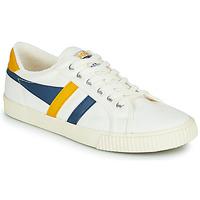 Obuća Muškarci  Niske tenisice Gola GOLA TENNIS MARK COX Bijela / Blue / Žuta