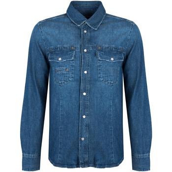 Odjeća Muškarci  Košulje dugih rukava Bikkembergs  Blue