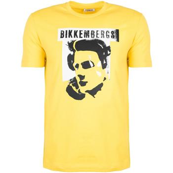 Odjeća Muškarci  Majice kratkih rukava Bikkembergs  Žuta