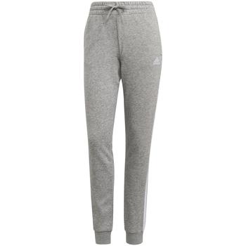 Odjeća Žene  Donji dio trenirke adidas Originals Pantalon femme  Essentials French Terry 3-Bandes gris chiné/blanc