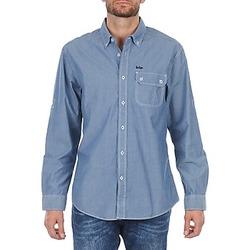 Odjeća Muškarci  Košulje dugih rukava Lee Cooper Greyven Blue