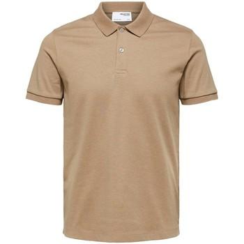 Odjeća Muškarci  Polo majice kratkih rukava Selected Polo manches courtes  Paris kelp melange