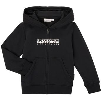 Odjeća Dječak  Sportske majice Napapijri B-BOX FZH Crna