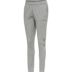 Odjeća Žene  Donji dio trenirke Hummel Pantalon femme  hmlLEGACY tapered gris