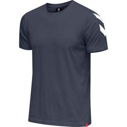 Odjeća Muškarci  Majice kratkih rukava Hummel T-shirt  hmlLEGACY chevron bleu foncé