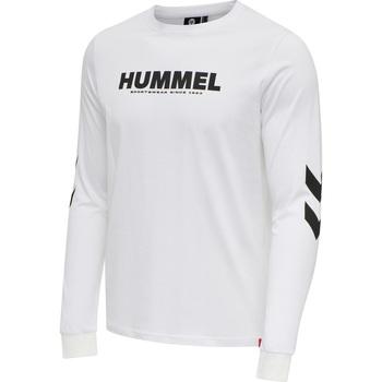 Odjeća Muškarci  Majice dugih rukava Hummel T-shirt manches longues  hmlLEGACY blanc
