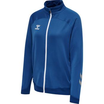 Odjeća Žene  Gornji dijelovi trenirke Hummel Veste zippée femme  hmlLEAD poly bleu