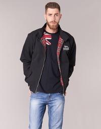 Odjeća Muškarci  Kratke jakne Lonsdale HARRINGTON Crna