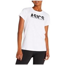 Odjeća Žene  Majice kratkih rukava Asics Katakana Graphic Tee Bijela