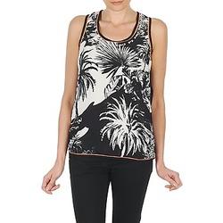 Odjeća Žene  Majice s naramenicama i majice bez rukava Derhy EDEN Crna / Bijela