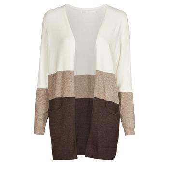 Odjeća Žene  Puloveri Only ONLQUEEN Krem boja / Smeđa