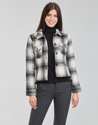 Odjeća Žene  Jakne i sakoi Only ONLLOU Krem boja / Crna
