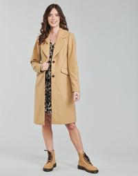 Odjeća Žene  Kaputi Only ONLLOUIE Camel
