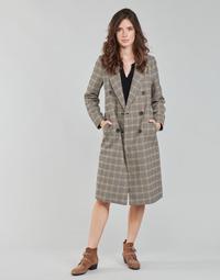 Odjeća Žene  Kaputi Only ONLZOEZUE Smeđa