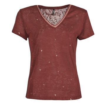 Odjeća Žene  Majice kratkih rukava Only ONLSTEPHANIA Bordo