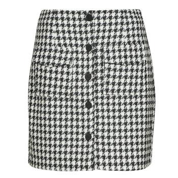 Odjeća Žene  Suknje Moony Mood PABLEIGES Crna / Bijela