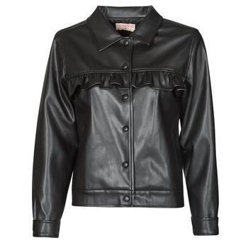 Odjeća Žene  Kožne i sintetičke jakne Moony Mood PABLIS Crna