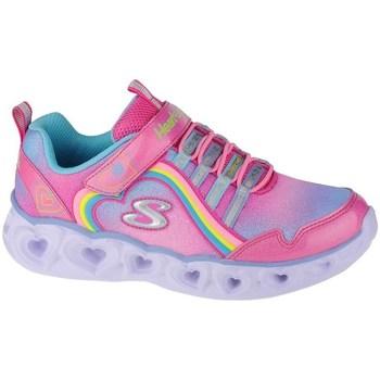 Obuća Djevojčica Fitness i trening Skechers Heart Lights Rainbow Lux Ružičasta