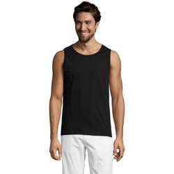 Odjeća Muškarci  Majice s naramenicama i majice bez rukava Sols Justin camiseta sin mangas Negro