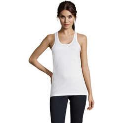 Odjeća Žene  Majice s naramenicama i majice bez rukava Sols Justin camiseta sin mangas Blanco