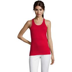 Odjeća Žene  Majice s naramenicama i majice bez rukava Sols Justin camiseta sin mangas Rojo
