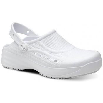 Obuća Muškarci  Klompe Feliz Caminar Zueco Laboral Flotantes Evolution - Bijela