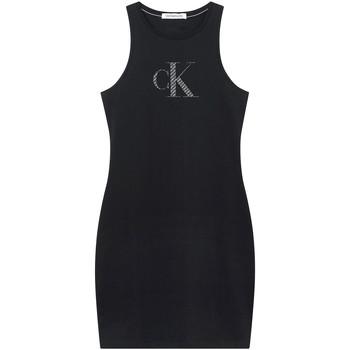 Odjeća Žene  Kratke haljine Calvin Klein Jeans J20J215663 Crno