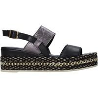 Obuća Žene  Sandale i polusandale Bueno Shoes 21WS5200 Crno