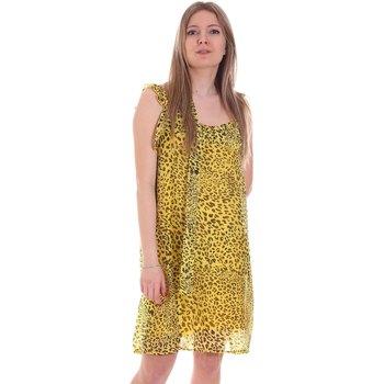 Odjeća Žene  Kratke haljine Gaudi 111FD15051 Žuta boja