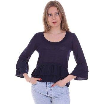 Odjeća Žene  Topovi i bluze Café Noir JM6150 Plava