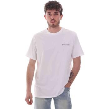 Odjeća Muškarci  Majice kratkih rukava Dockers 27406-0115 Bijela