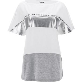 Odjeća Žene  Majice kratkih rukava Freddy S1WSDT2M Bijela