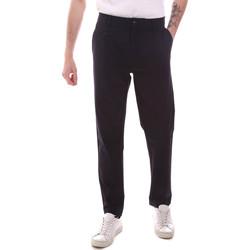 Odjeća Muškarci  Chino hlačei hlače mrkva kroja Gaudi 111GU25068 Plava