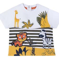 Odjeća Djeca Majice kratkih rukava Chicco 09067093000000 Bijela